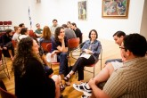 Post-performance discussion groups at Hebrew College
