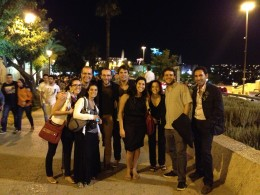 Producing Artistic Director Guy Ben-Aharon and fellow ROI Community members