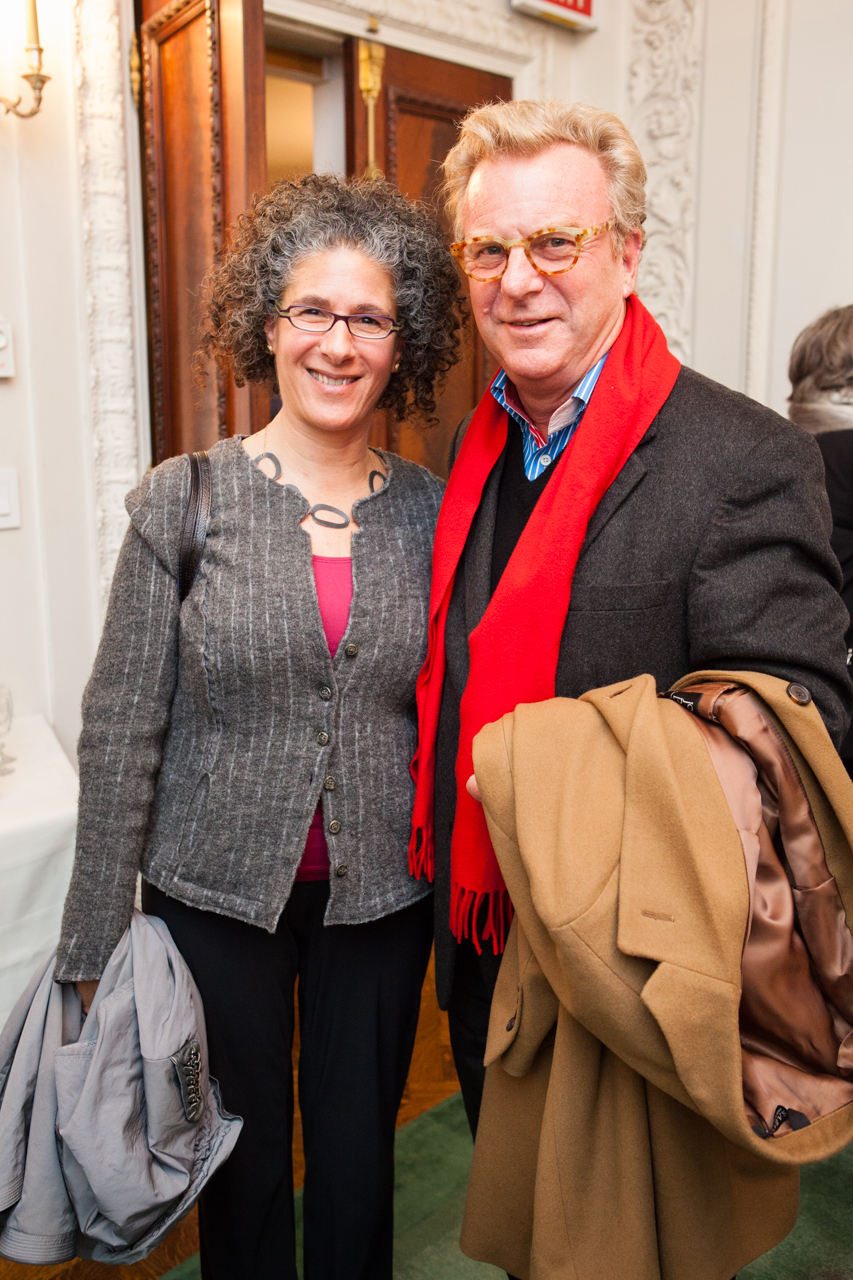 Amy Ansell with ArtsEmerson Founder Rob Orchard